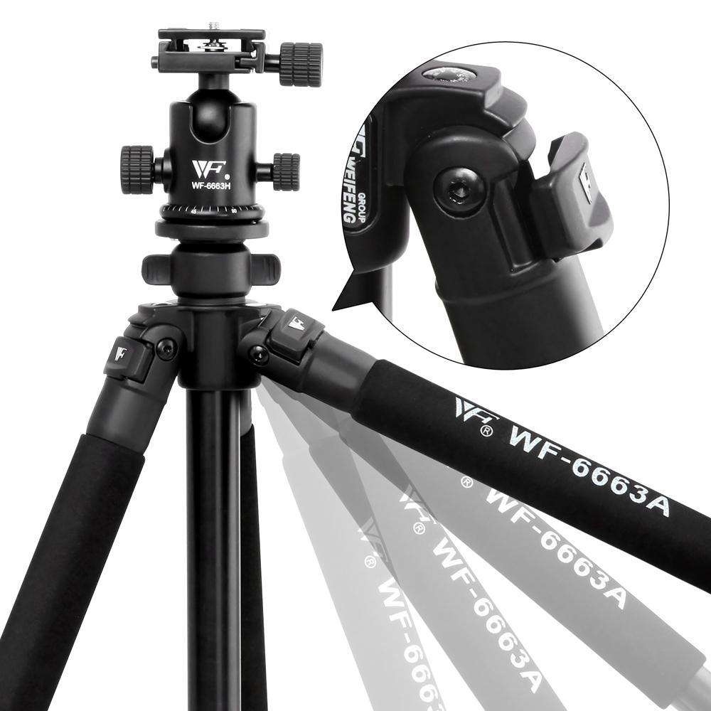Professional Ball Head Tripod Digital Camera 173cm - Desirable Home Living