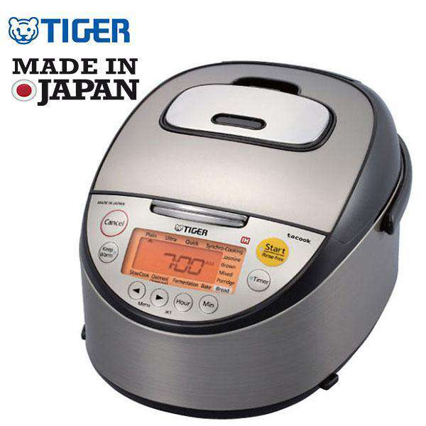 TIGER 10 CUP IH INDUCTION HEATING RICE COOKER (MADE IN JAPAN) JKT-S18A