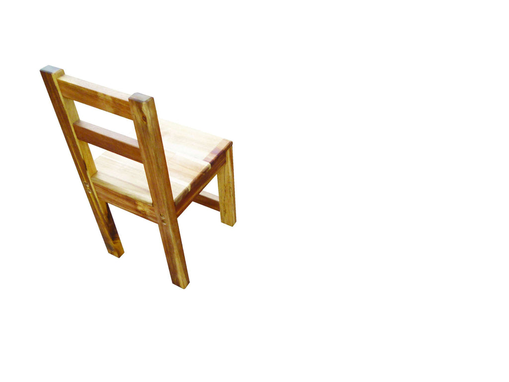 Acacia Standard Chair Natural - Desirable Home Living