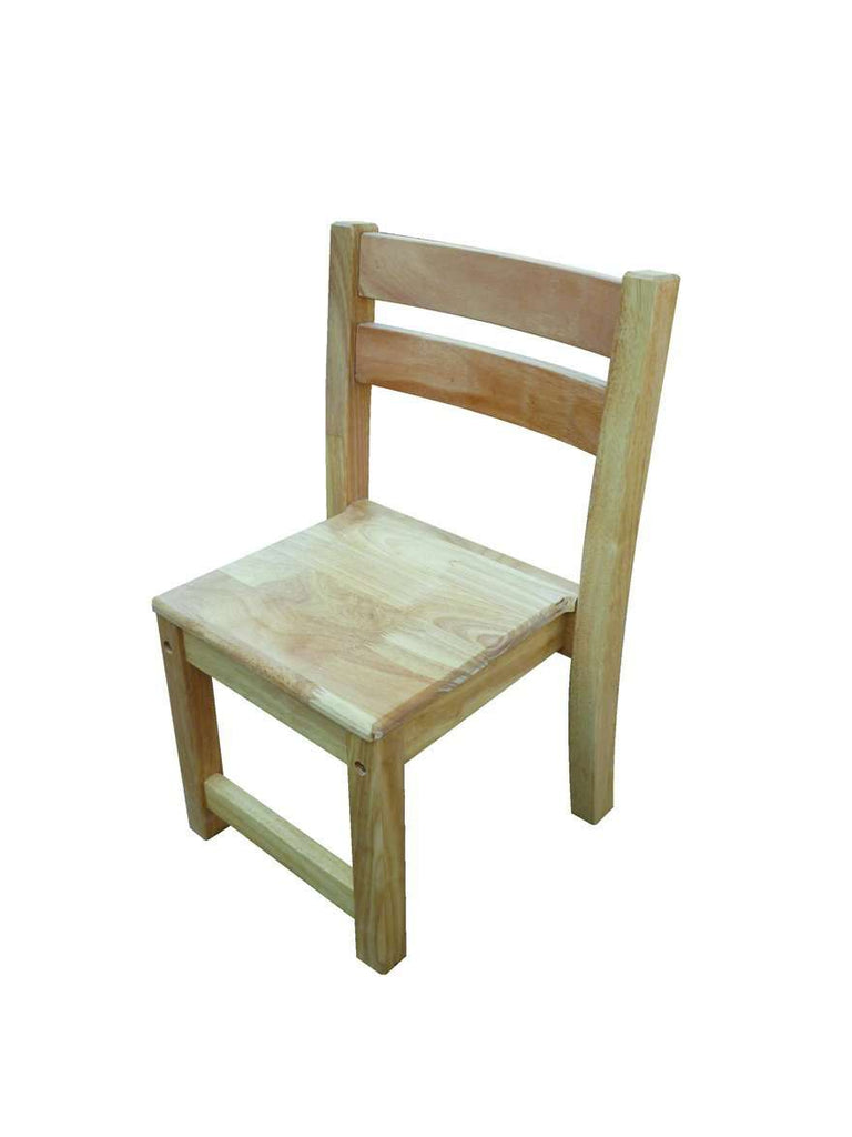 Rubberwood Stacking Chairs - Desirable Home Living