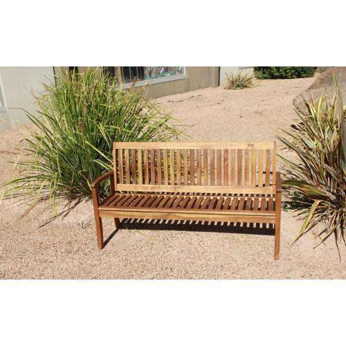 Outdoor Hardwood 3 Seater Kid Bench - Desirable Home Living