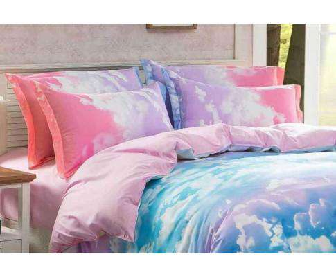 King Size Clouds Blue Sky Quilt Cover Set (3PCS)