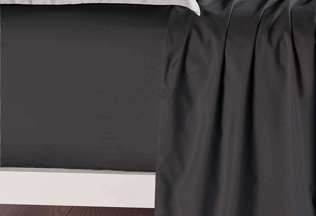 Queen Size Black Color Fitted Sheet
