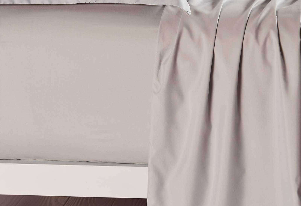 King Single Size Linen Color Fitted Sheet