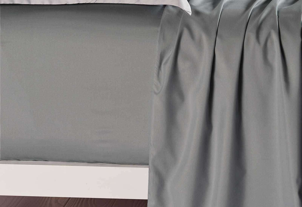 Queen Size Slate Color Fitted Sheet