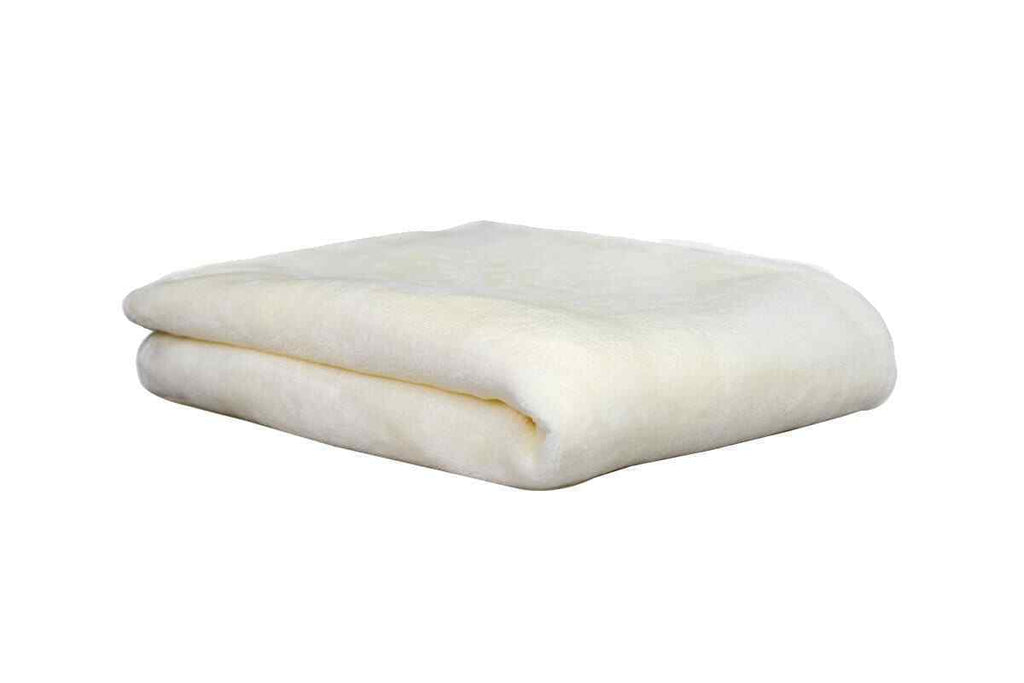 Ultra-Soft Throw Rug (Ivory Color)