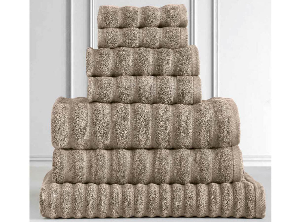 Egyptian Cotton 600GSM 7pcs Towel Pack (Taupe Color)