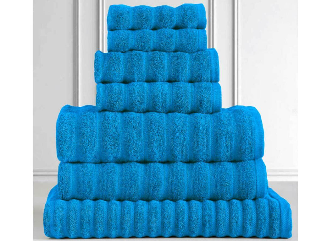 Egyptian Cotton 600GSM 7pcs Towel Pack (Turquoise Color)
