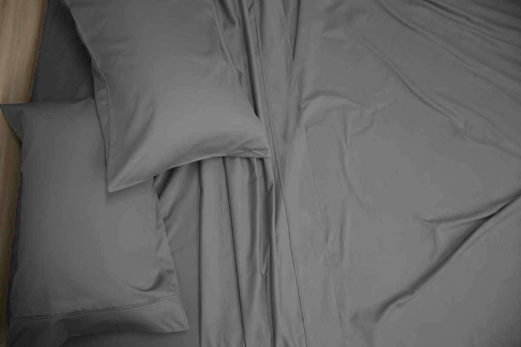 Queen Size 1200TC Cotton Rich Sheet Set (Charcoal Color)