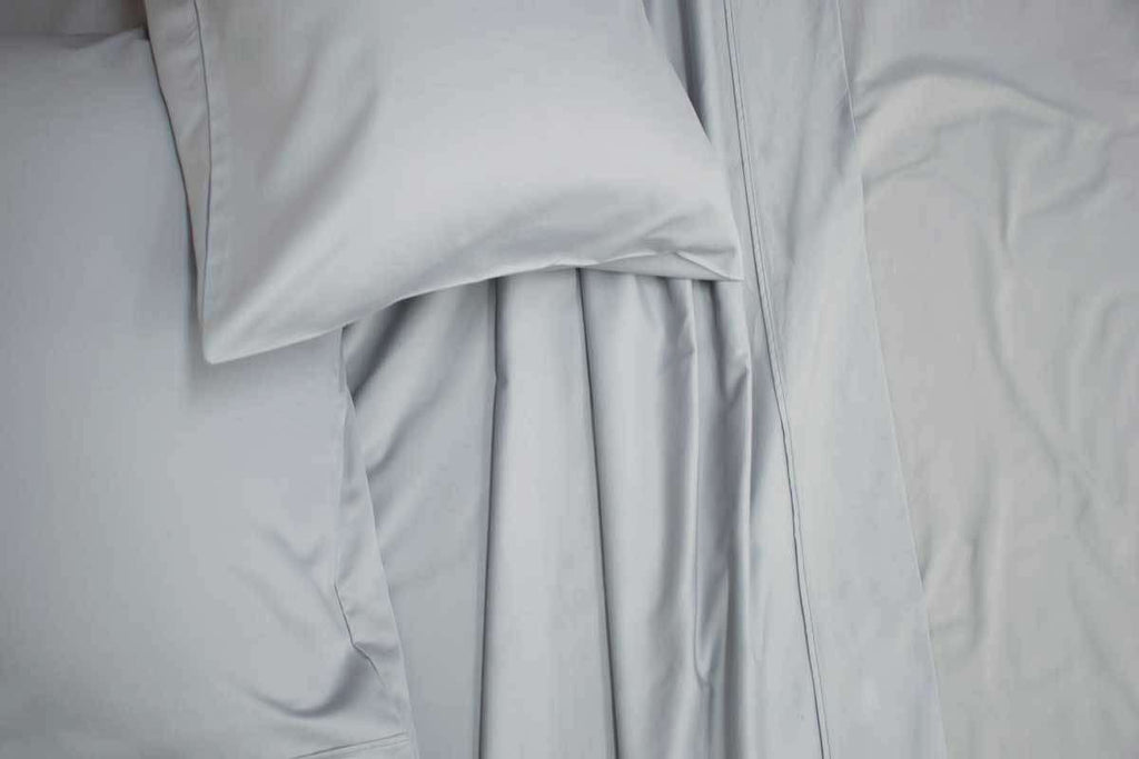 Queen Size 1200TC Cotton Rich Sheet Set (Silver Color)