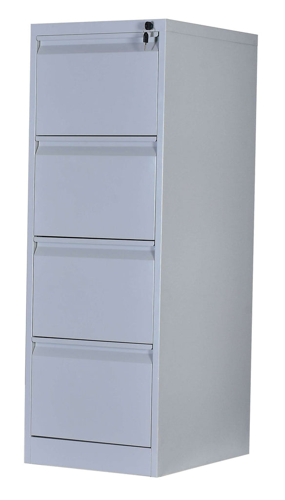4-Drawer Shelf Office Gym Filing Storage Locker Cabinet - Desirable Home Living