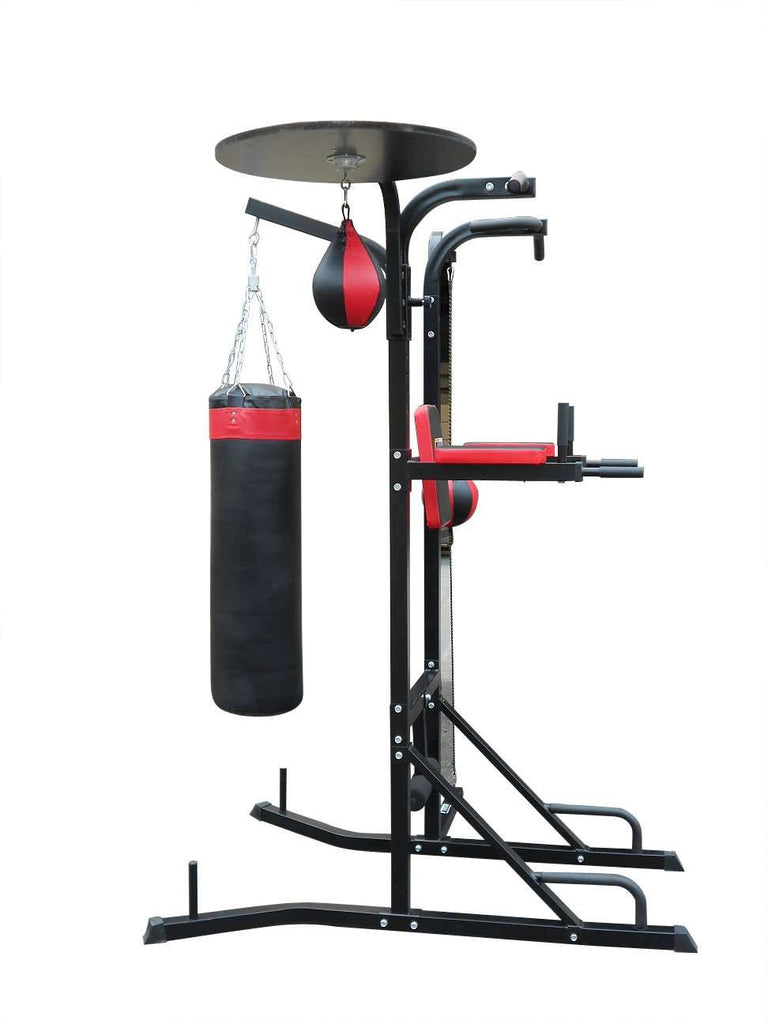 Power Boxing Station Stand Gym Speed Ball Punching Bag - Desirable Home Living