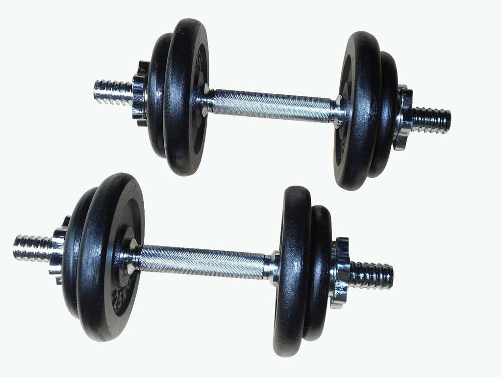 Weight Set Barbell Dumbell Dumb Bell Gym 50kg Plate - Desirable Home Living
