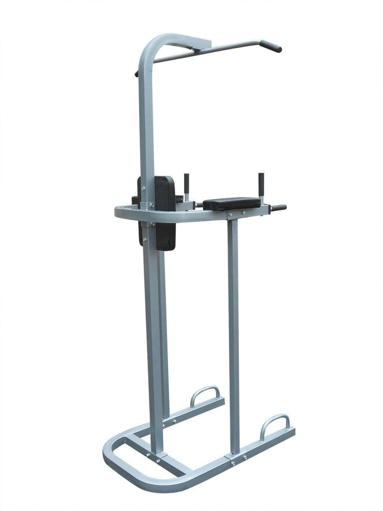 AB Power Tower Dip Chin Push Up Home Gym MultiStation - Desirable Home Living