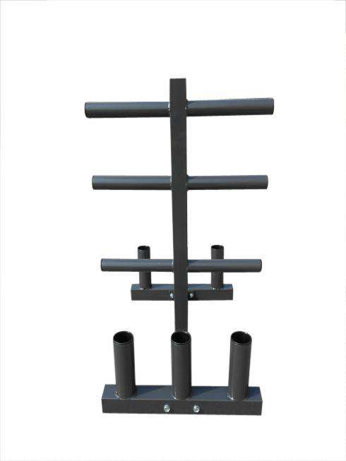 Olympic Weight Tree Bar Rack Holder Storage - Desirable Home Living