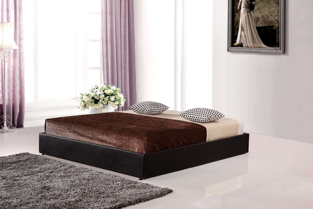 PU Leather King Bed Ensemble Frame - Desirable Home Living