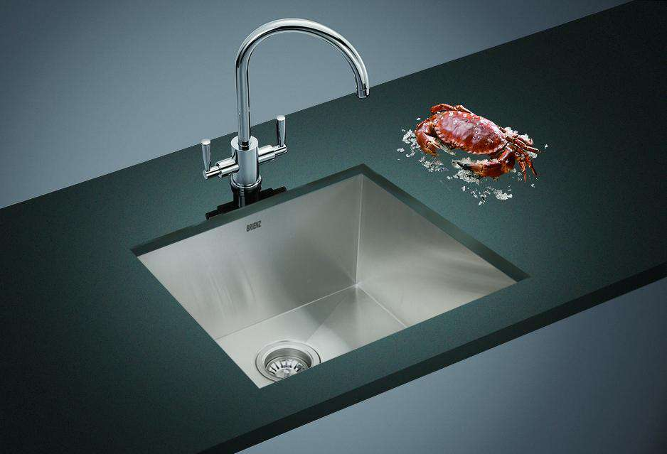 Stainless Steel Sink - 510x450mm - Desirable Home Living