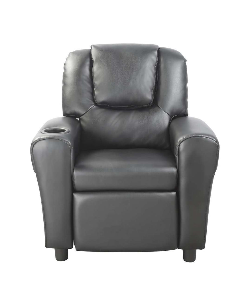 Leather Kids Recliner - Desirable Home Living