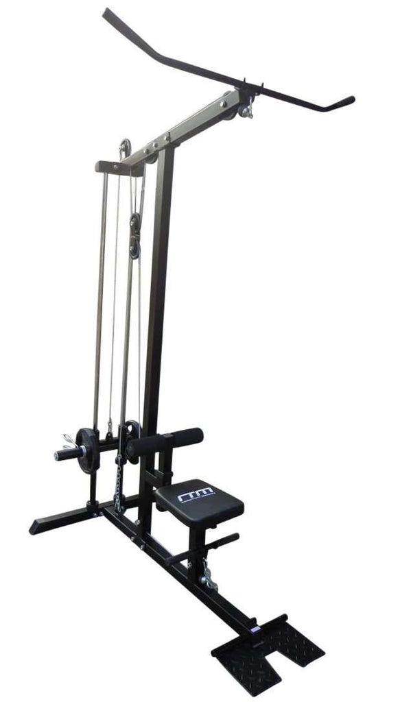 Lat PullDown Low Row Fitness Machine - Desirable Home Living