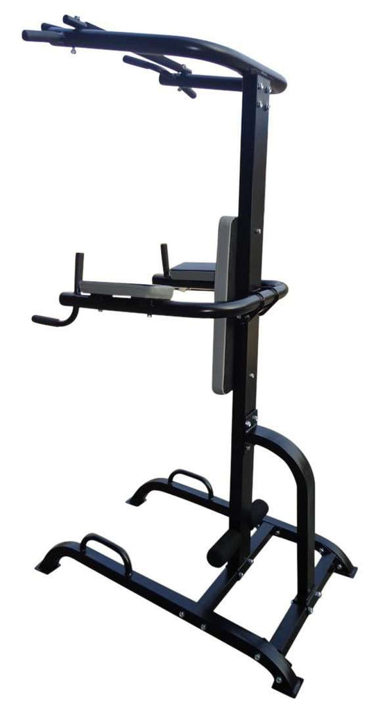 Power Tower Chin Up Dip Pull Push Up Machine - Desirable Home Living