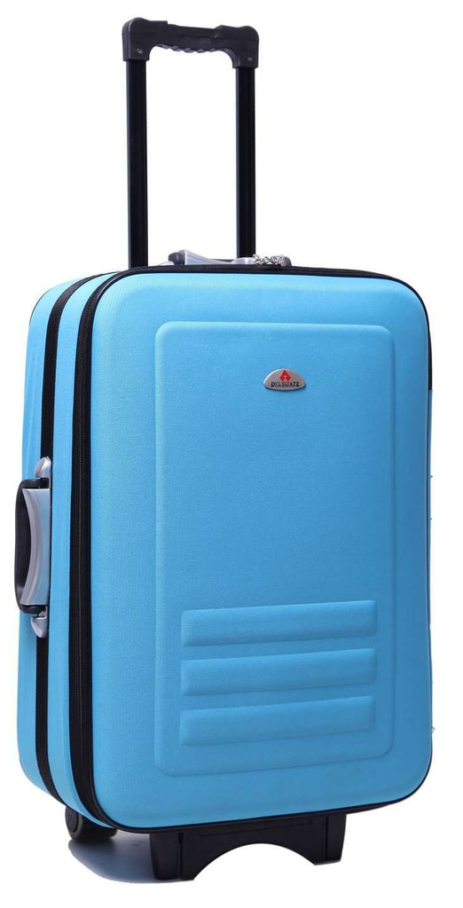 5pc Suitcase Trolley Travel Bag Luggage Set BLUE