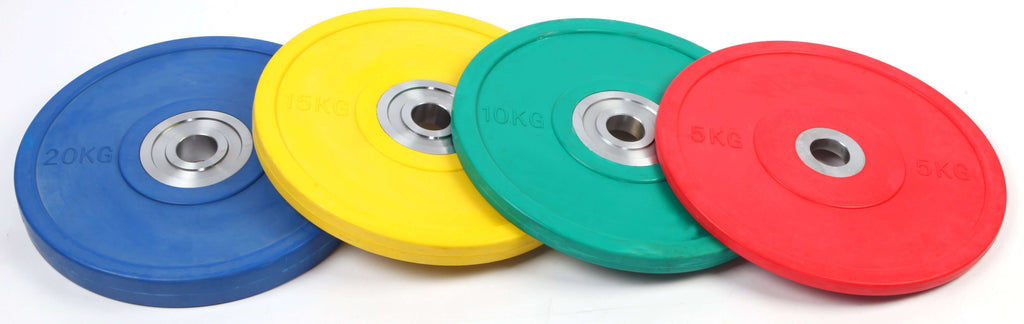 15KG PRO Olympic Rubber Bumper Weight Plate - Desirable Home Living
