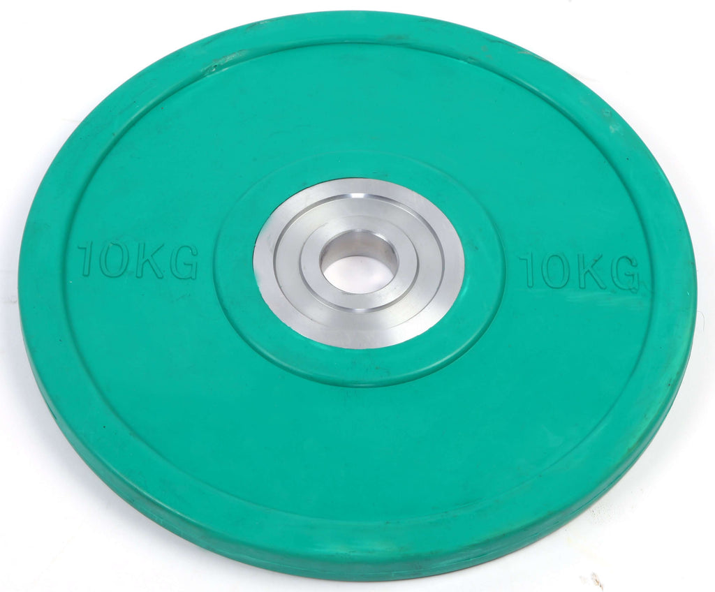 10KG PRO Olympic Rubber Bumper Weight Plate - Desirable Home Living