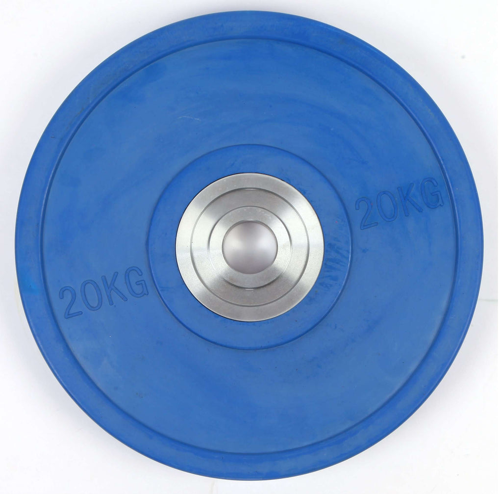 20KG PRO Olympic Rubber Bumper Weight Plate - Desirable Home Living