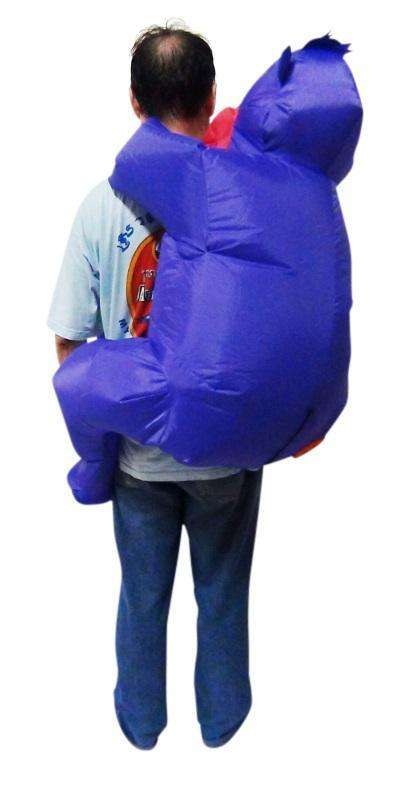 GORILLA Fancy Dress Inflatable Suit -Fan Operated Costume - Desirable Home Living