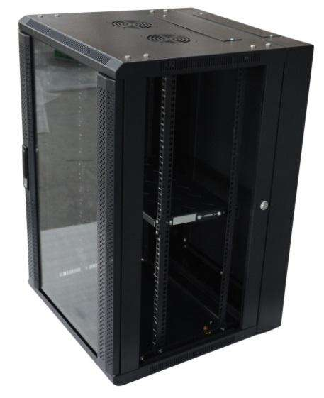 18RU 600MM Comms Data Rack Cabinet - Desirable Home Living