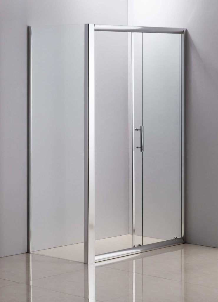 1200 X 700 Sliding Door Safety Glass Shower Screen By Della Francesca - Desirable Home Living