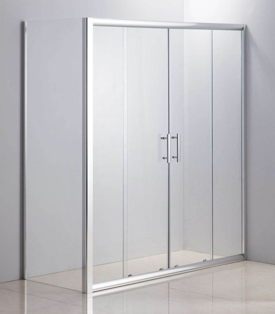 1700 X 700 Sliding Door Safety Glass Shower Screen By Della Francesca
