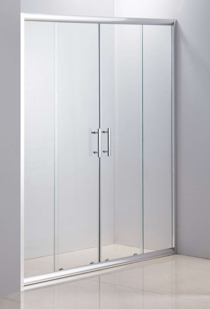 1700mm Sliding Door Safety Glass Shower Screen By Della Francesca