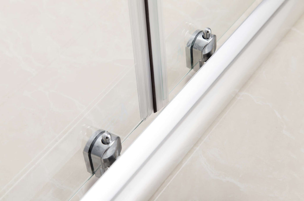 1700mm Sliding Door Safety Glass Shower Screen By Della Francesca - Desirable Home Living