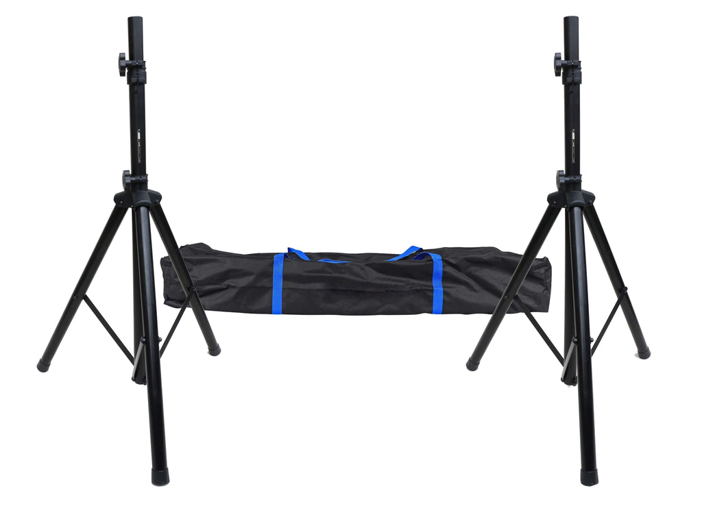 Tripod DJ PA Speaker Stand Set with Carry Bag - Desirable Home Living