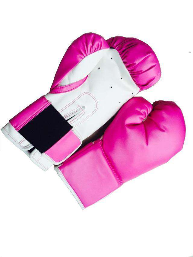 70lb Pink Heavy Bag Kit Punching Boxing Bag Gloves Hand Wraps