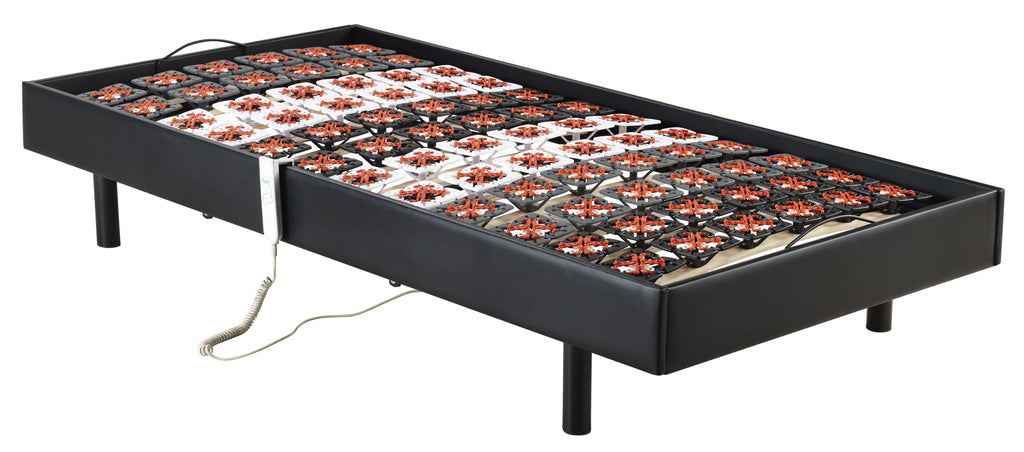 Palermo Electric Adjustable Bed Frame Single Size - Support on a Micro level - Desirable Home Living