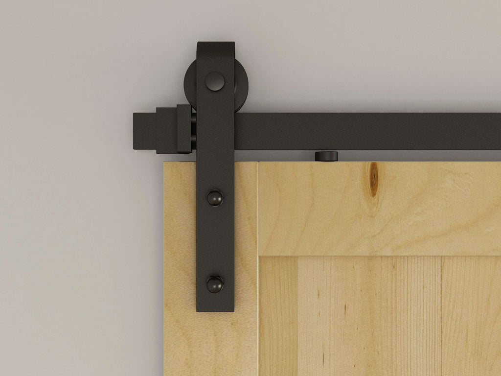 1.8m Sliding Barn Door Hardware - Desirable Home Living