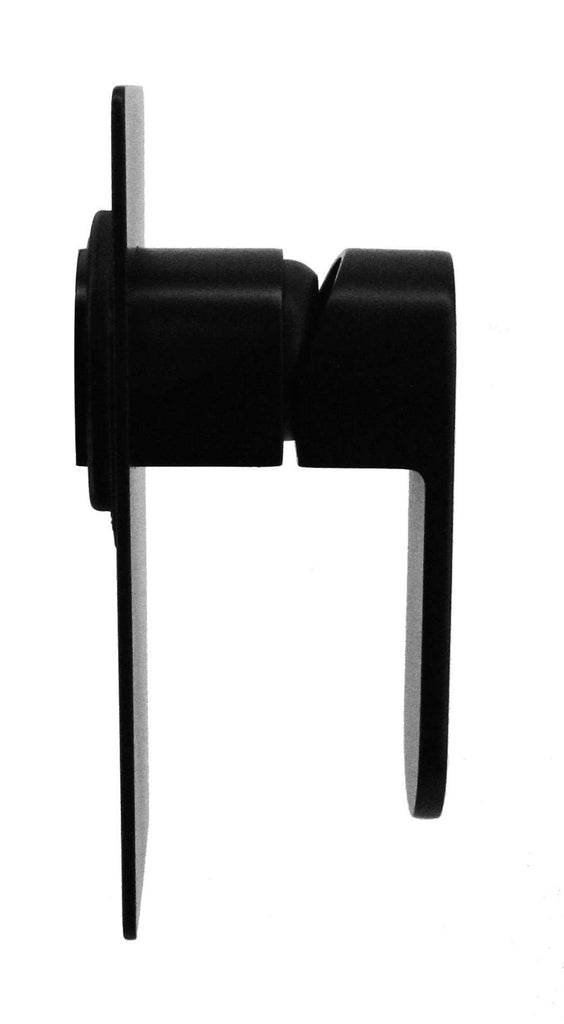 Shower Bath Mixer Tap WATERMARK Approved Electroplated Matte Black - Desirable Home Living