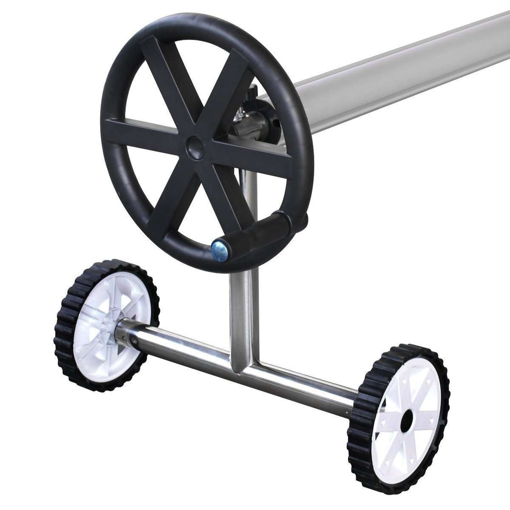 Pool Blanket Roller with Wheels - Desirable Home Living