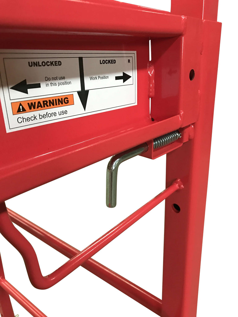 Safety Scaffolding Ladder - 450KG - Desirable Home Living