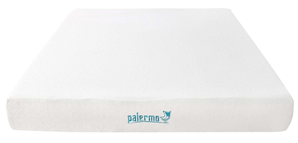 Palermo King 25cm Gel Memory Foam Mattress - Dual-Layered - CertiPUR-US Certified