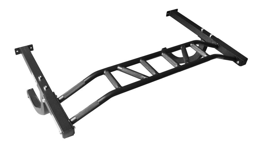 Wall Mounted Multi Grip Chin Up Bar Upper Body Training