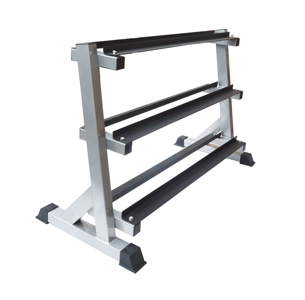 3 Tier Dumbbell Rack for Dumbbell Weights Storage