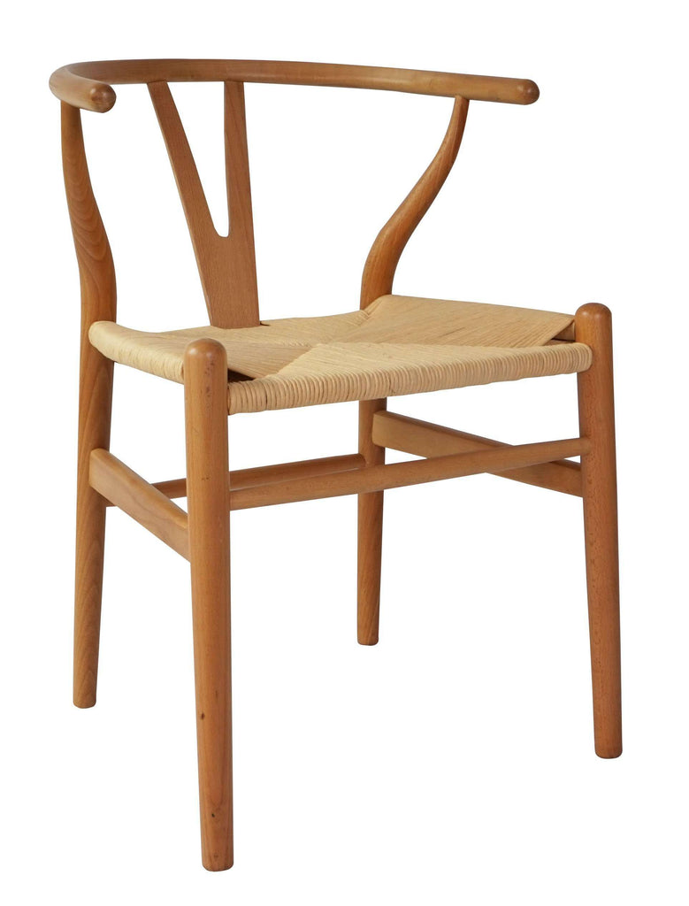 Wishbone Chair Natural Set Of 2