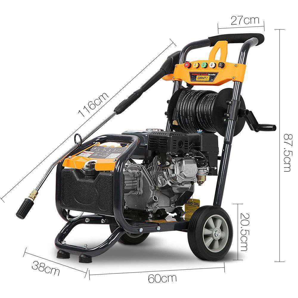 3 Lances High Pressure Washer - Desirable Home Living