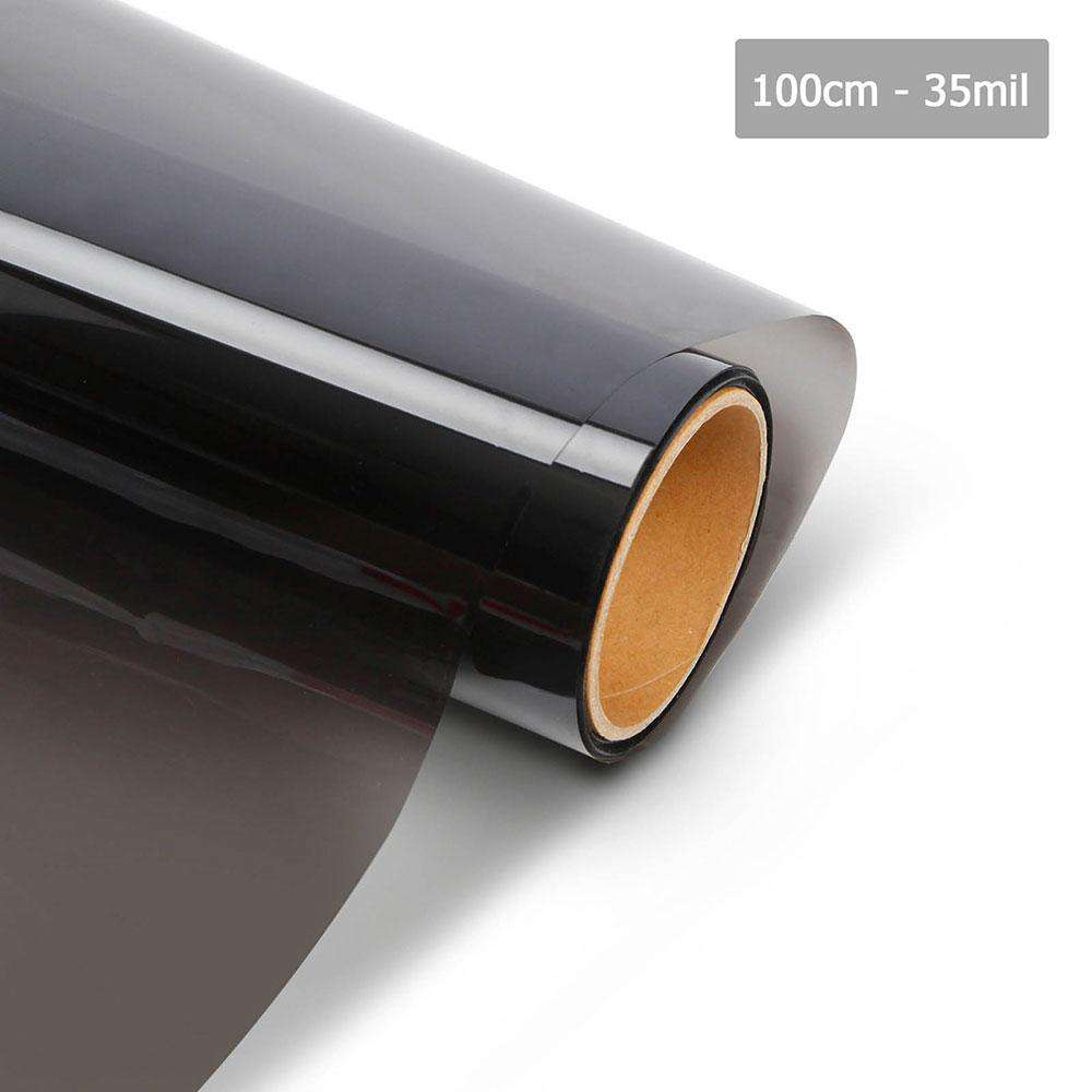 Giantz Window Tint Film Black Commercial Car Auto House Glass 100cm*30m VLT 35%