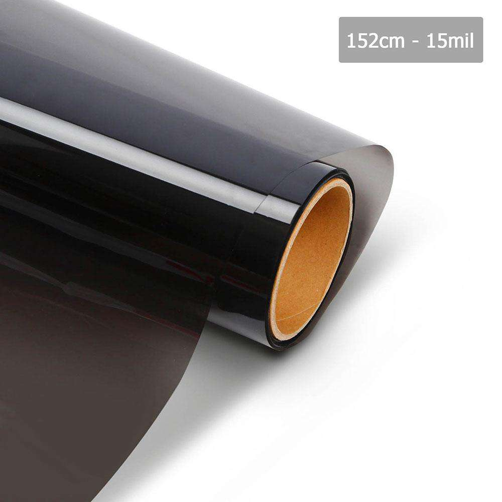 Giantz Home Window Tint Film Black Commercial Auto House Glass 152cm x 30m VLT 15%
