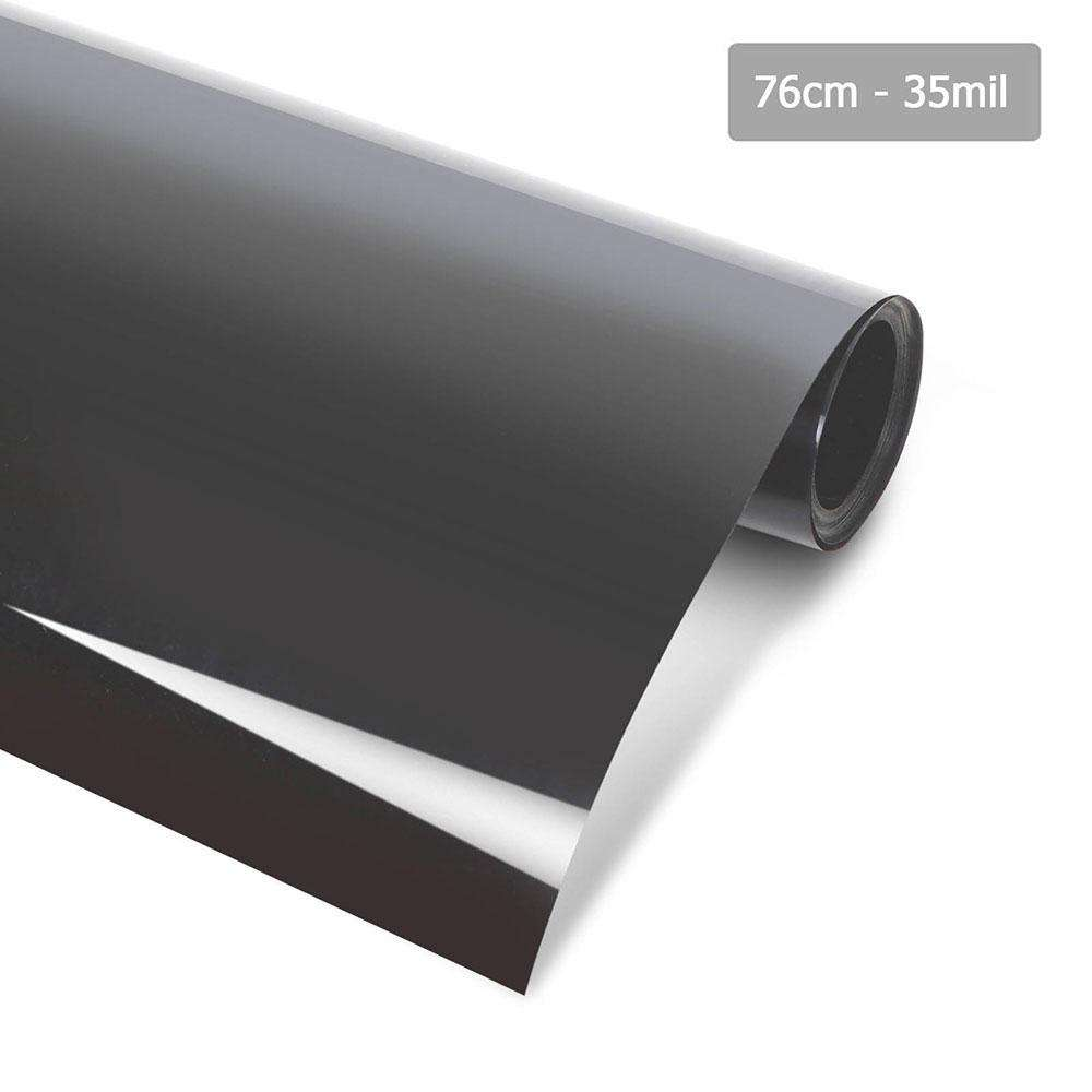 Giantz Window Tint Film Black Commercial Car Auto House Glass 76cm X 7m VLT 35%