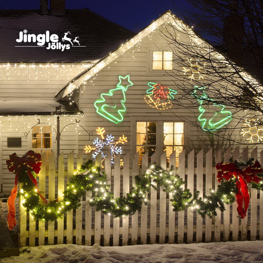Jingle Jollys Motifs Lights - Christmas Tree